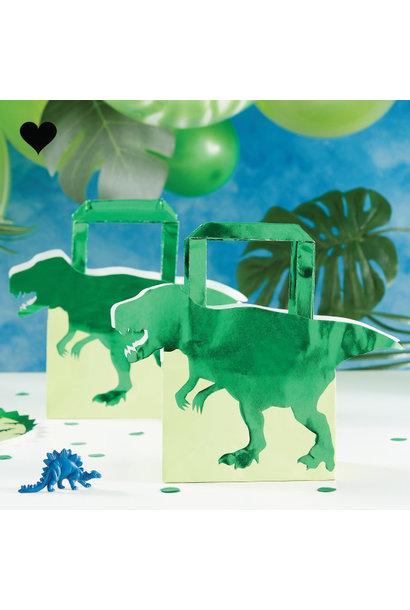 Dinosaurus tasje Roarsome (5 st) - Ginger Ray
