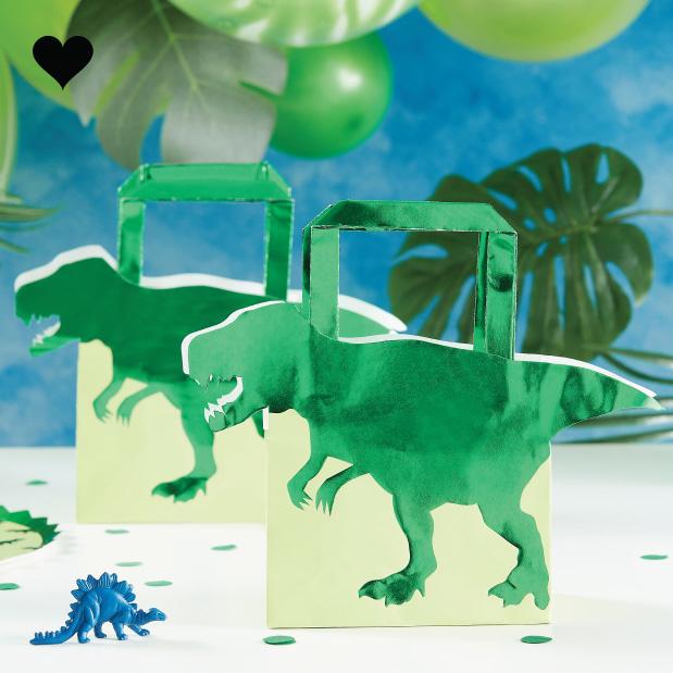 Dinosaurus tasje Roarsome (5 st) - Ginger Ray-1