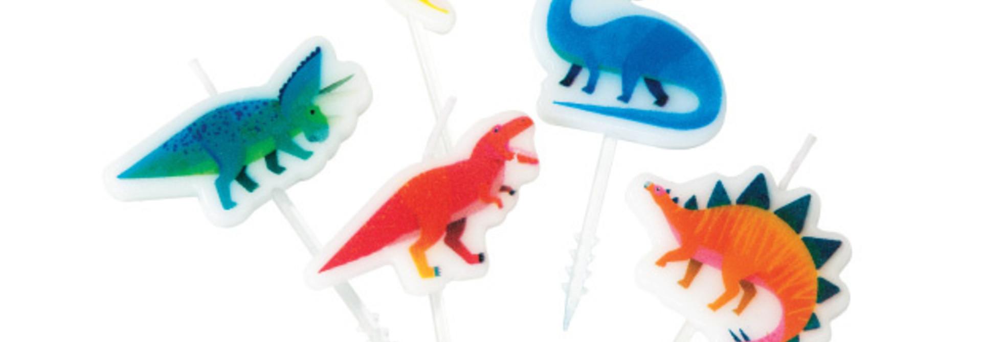 Taartkaarsjes Party Dinosaurs (5st) Talking Tables
