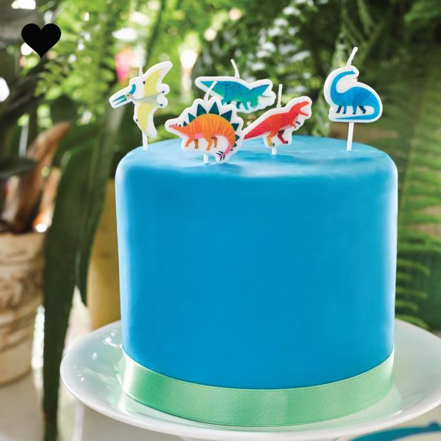 Taartkaarsjes Party Dinosaurs (5st) Talking Tables-2