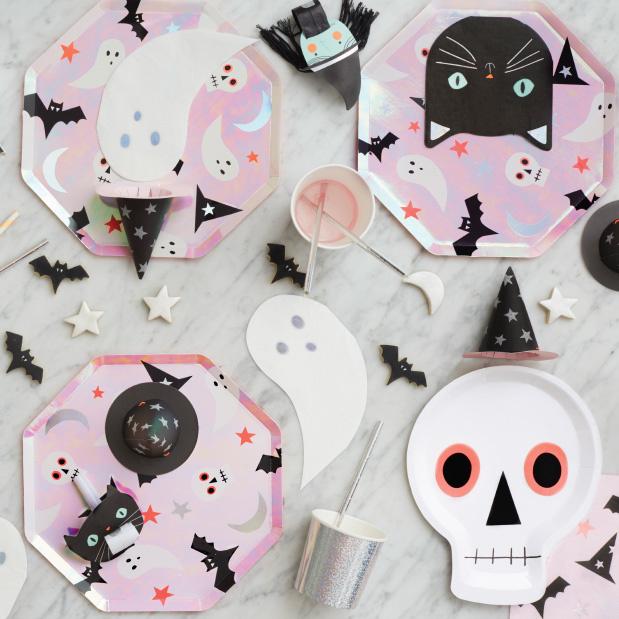 Cupcake kit Halloween (48st) Meri Meri-2