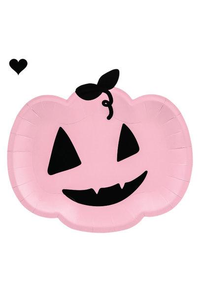 Borden pompoen roze (6st)