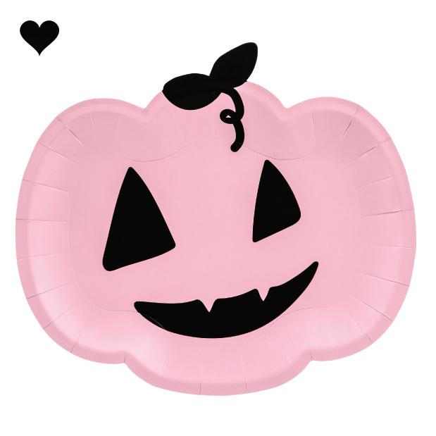 Borden pompoen roze (6st)-1