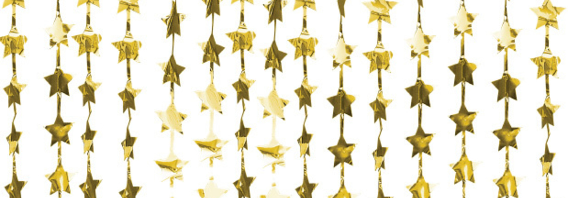 Backdrop gold star Pop the Bubbly Ginger Ray