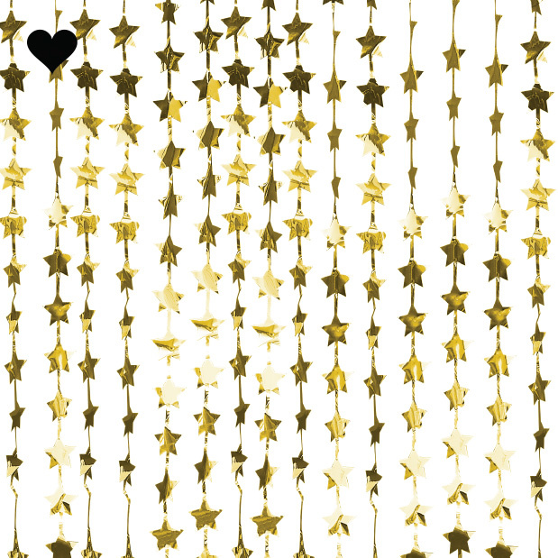 Backdrop gold star Pop the Bubbly Ginger Ray-1