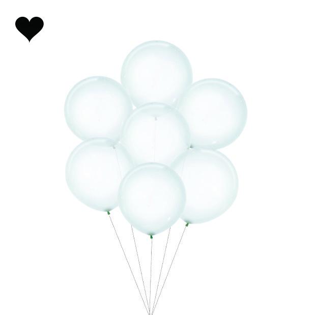 Ballon clearz crystal groen (60 cm)-3