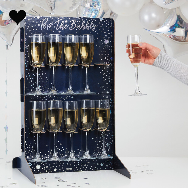 Prosecco Wall Pop the Bubbly Stargazer Ginger Ray-2