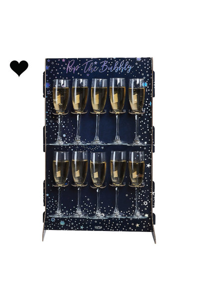 Prosecco Wall Pop the Bubbly Stargazer Ginger Ray