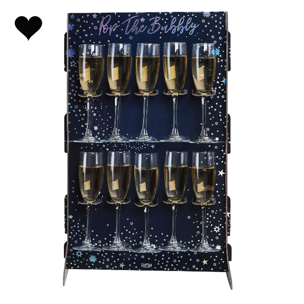 Prosecco Wall Pop the Bubbly Stargazer Ginger Ray-1