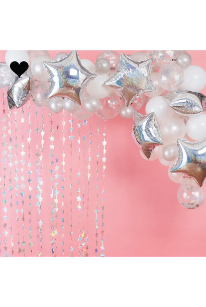 Ballonnenboog iridescent Stargazer Ginger Ray