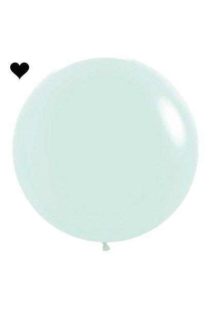 Ballon Pastel Mat Mint (60cm)