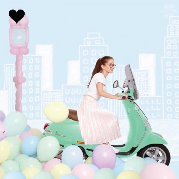 Ballon Pastel Mat Mint (60cm)-4