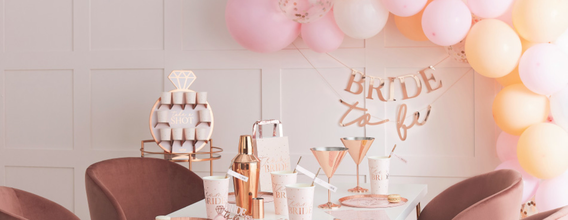BLUSH HEN PARTY