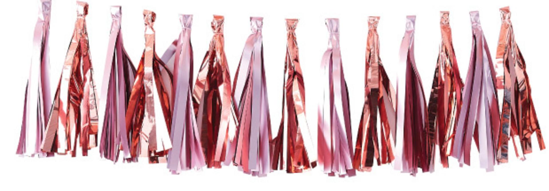 Tasselslinger roze roségoud Twinkle Twinkle