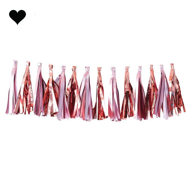 Tasselslinger roze roségoud Twinkle Twinkle-1