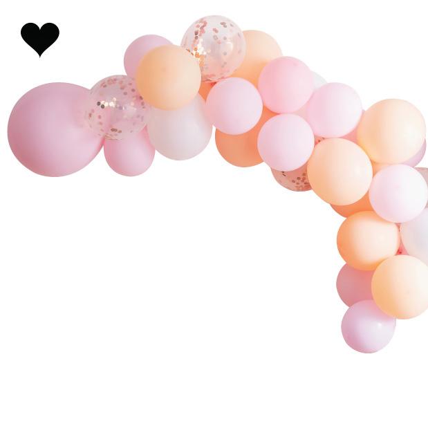 Ballonnenboog Blush Ginger Ray-2