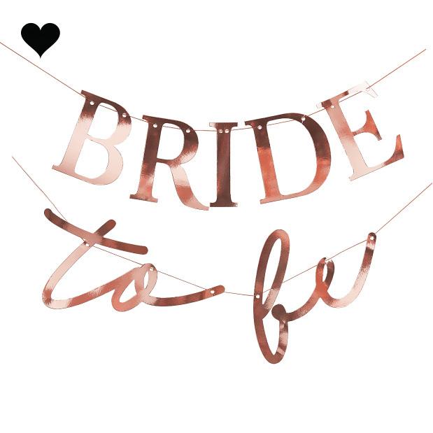 Slinger Bride To Be Blush Hen Ginger Ray-2