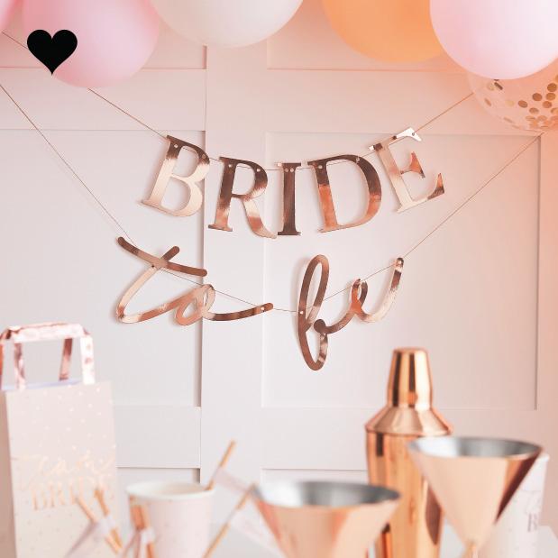 Slinger Bride To Be Blush Hen Ginger Ray-1