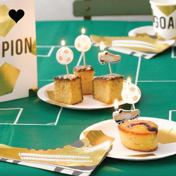 Servetten voetbalschoen Party Champions (16st) Talking Tables-2
