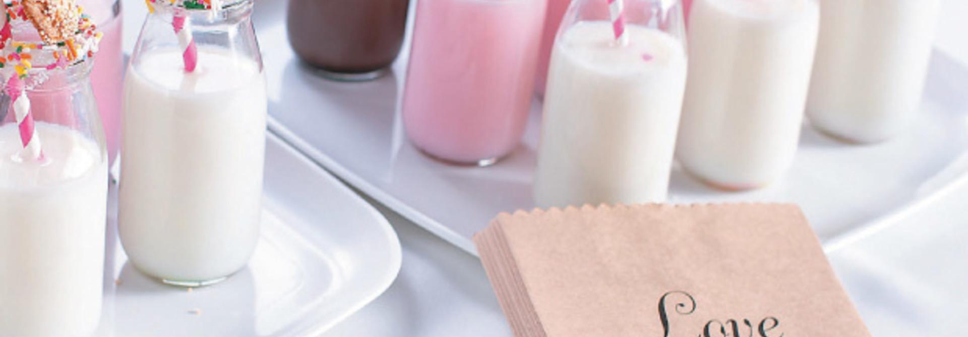 Glazen melkflesje 250 ml