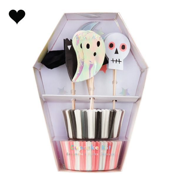 Cupcake kit Halloween (48st) Meri Meri-1