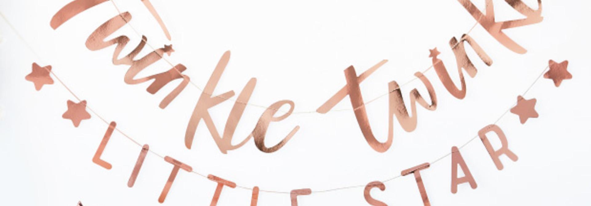 Slinger roségoud Twinkle Twinkle - Ginger Ray