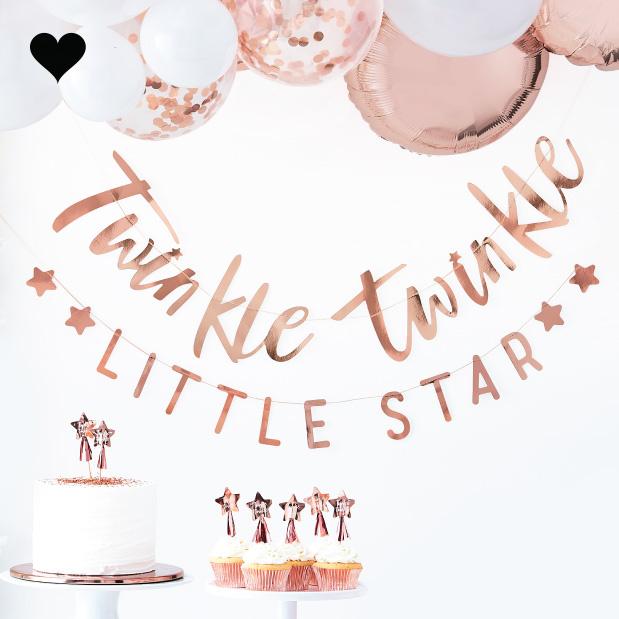Slinger roségoud Twinkle Twinkle - Ginger Ray-1