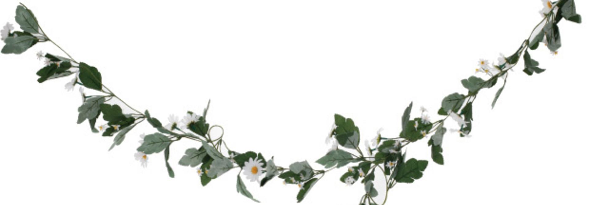 Daisy bloemen slinger Ginger Ray