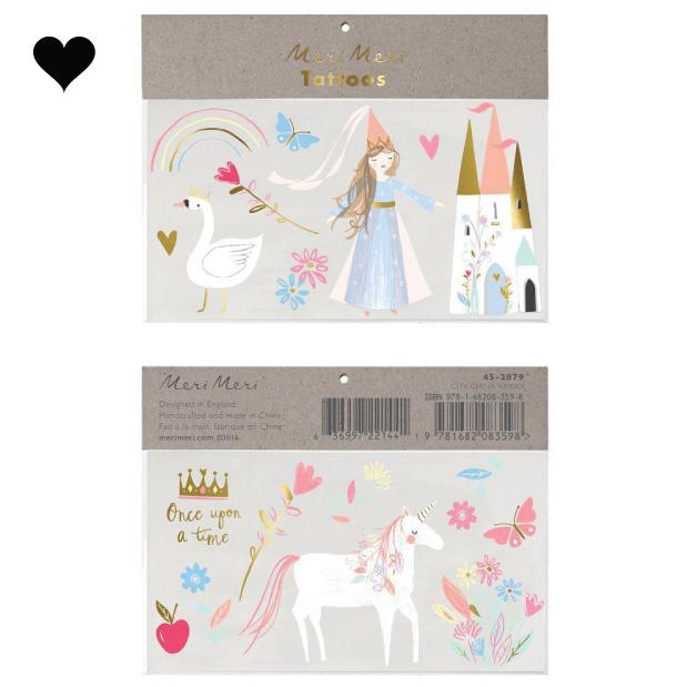 Plaktattoos Magical Princess Meri Meri-1