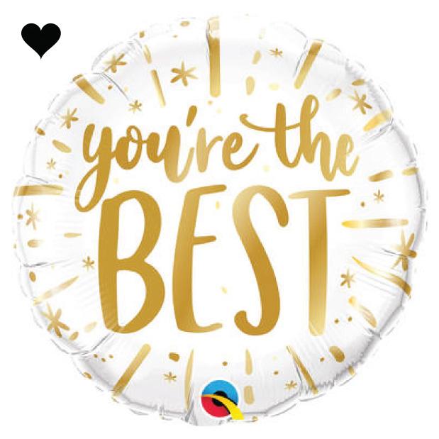 Folieballon Your The Best-1