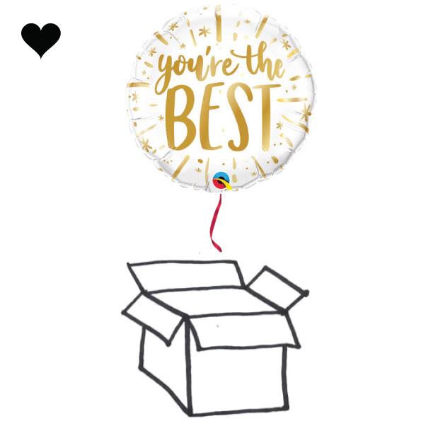 Folieballon Your The Best-2