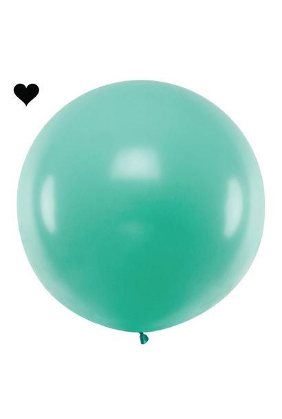 Mega ballon bos groen 1M