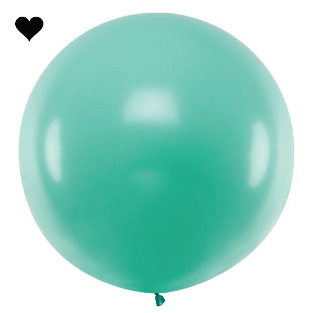 Mega ballon bos groen 1M-1