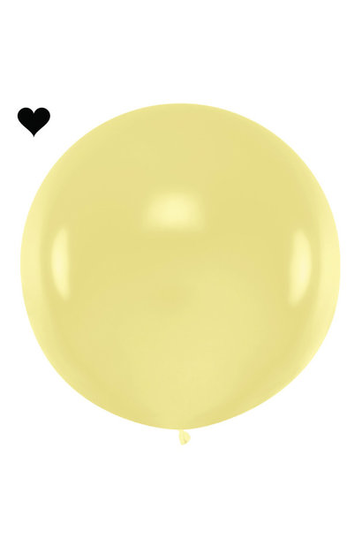 Mega ballon crème 1M