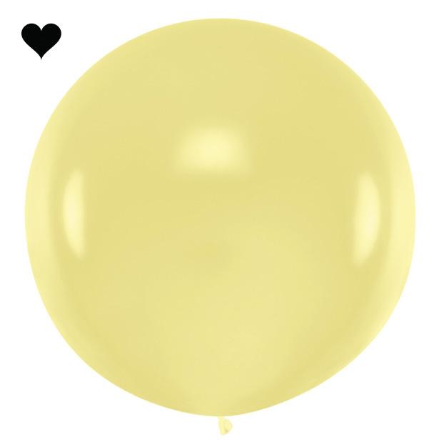 Mega ballon crème 1M-1