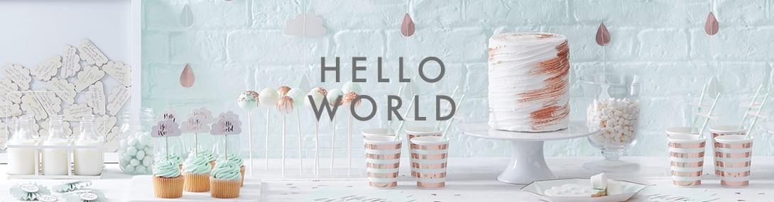 Hello World Babyshower