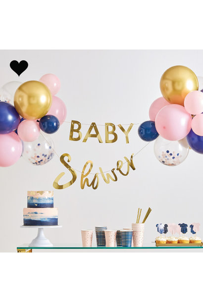 Babyshower slinger met ballonnen Gender Reveal Ginger Ray
