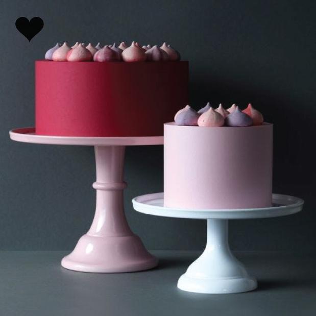 Taartplateau pastel roze XL  A little Lovely Company-2