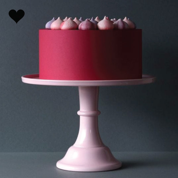 Taartplateau pastel roze XL  A little Lovely Company-4
