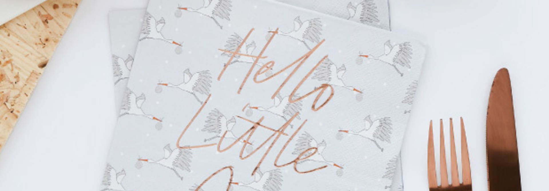 Servetten Hello Little one (20st) Hootyballoo