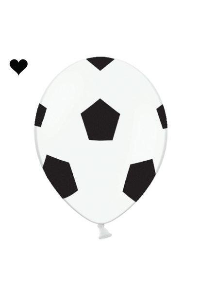 Ballonen voetbal (6st)