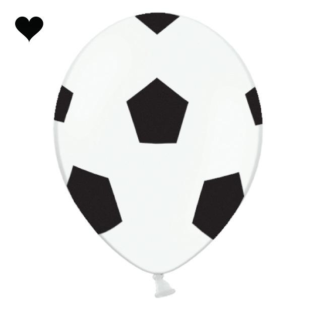 Ballonen voetbal (6st)-1