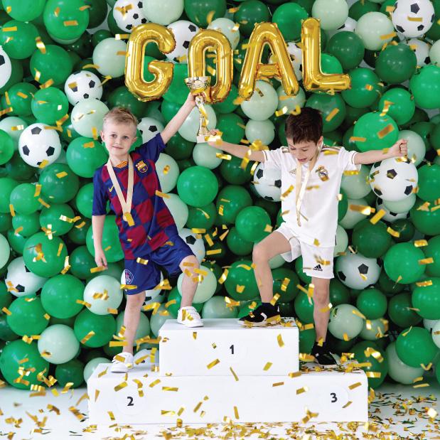 Ballonen voetbal (6st)-3