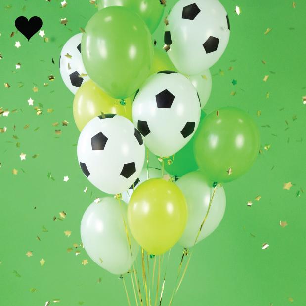 Ballonen voetbal (6st)-4