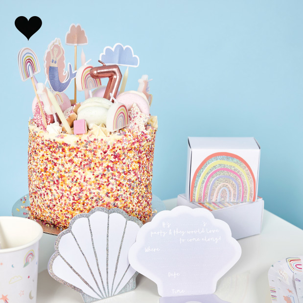 Cake toppers Enchanted Party (6st) Hootyballoo-4