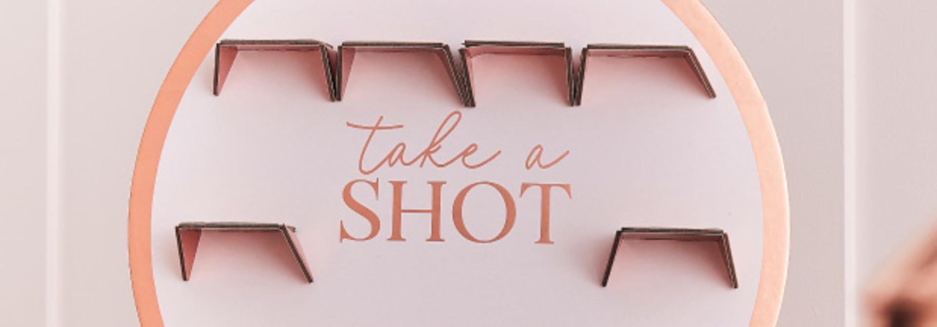 Take A Shot standaard Blush Hen Ginger Ray