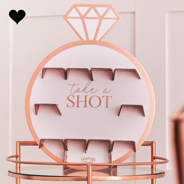 Take A Shot standaard Blush Hen Ginger Ray-1