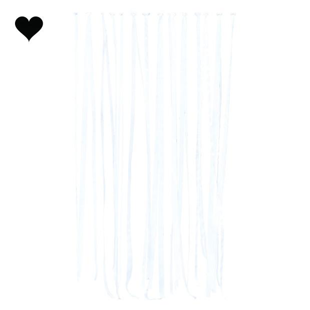Backdrop witte linten (80M) Ginger Ray-2