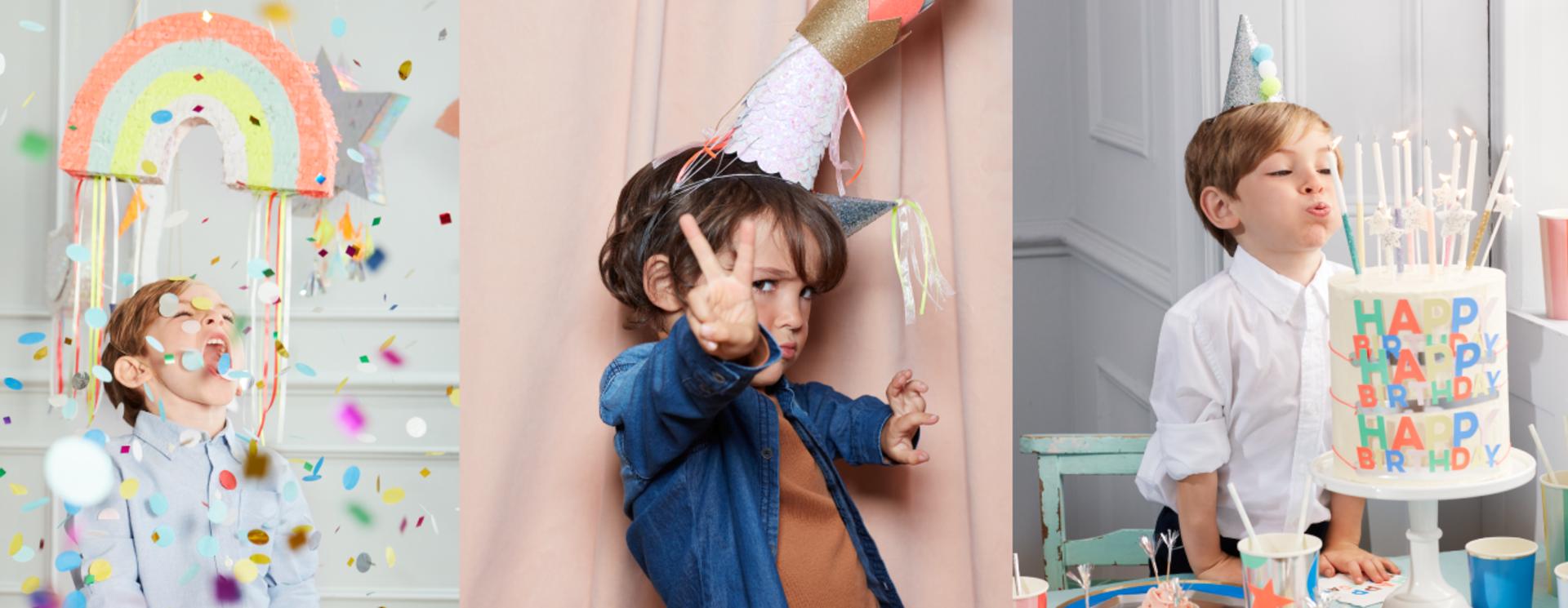 Verjaardag versiering voor jongens