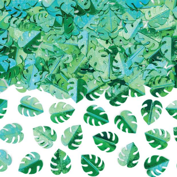 Tafelconfetti blaadjes groen-1